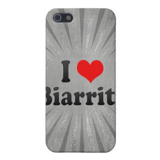 I Love Biarritz France Cover For iPhone 5