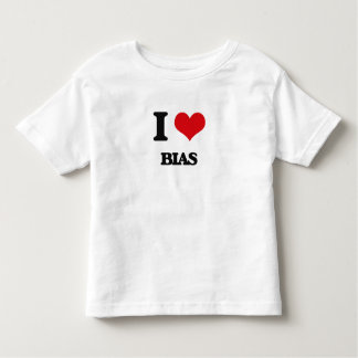 I Love Bias Shirts