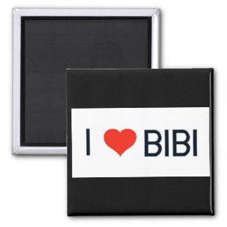 I Love Bibi Magnet