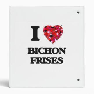I love Bichon Frises Binders