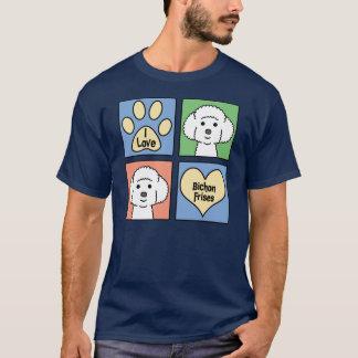 I Love Bichon Frises T-Shirt