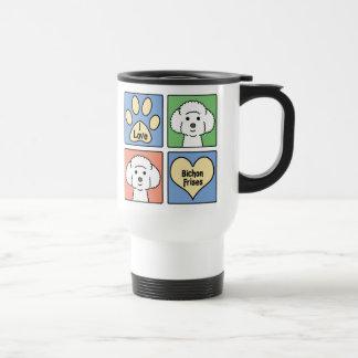 I Love Bichon Frises Travel Mug