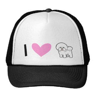 I Love Bichon Frises Trucker Hat