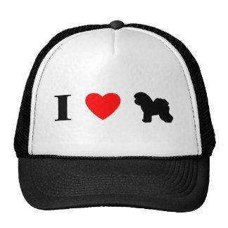 I Love Bichons Frises Hat