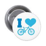 I Love Bicycle Pins