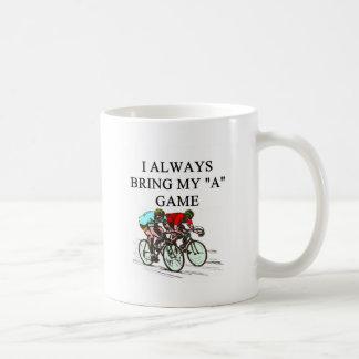 i love bicycle racing coffee mug