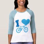 I Love Bicycle Shirt