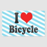 I love Bicycle Stickers
