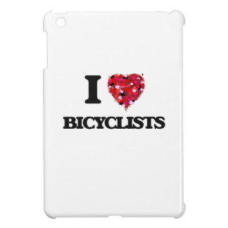 I Love Bicyclists iPad Mini Case