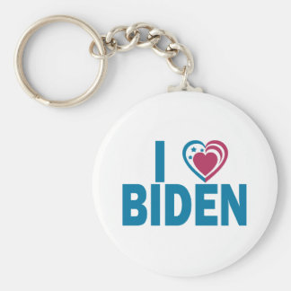 I Love Biden Keychain