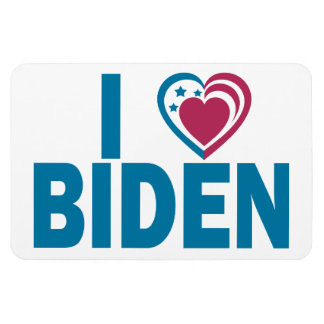 I Love Biden Vinyl Magnet