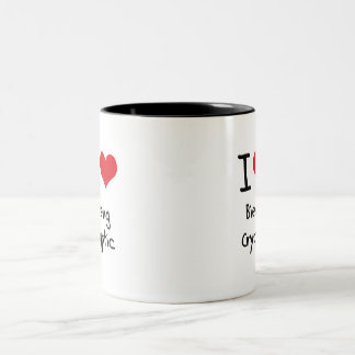 I love Bieng Cryptic Mugs