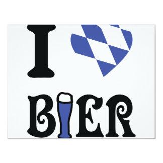 I love bier icon card