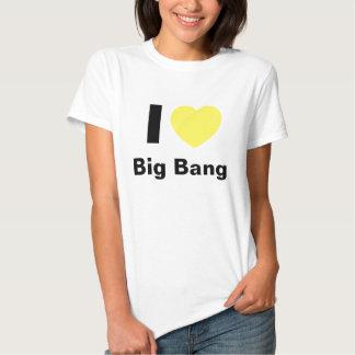 I Love Big Bang T Shirt