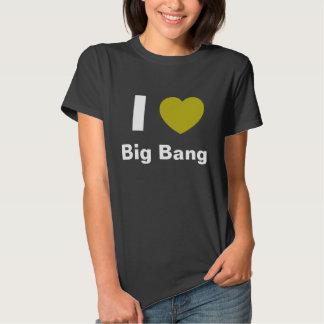 I Love Big Bang T Shirt (black)