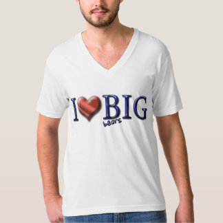 I Love Big Bears T-Shirt