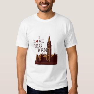 I Love Big Ben Tee Shirt