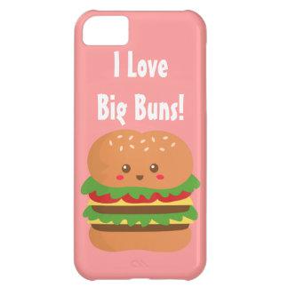 I Love Big Buns, Kawaii Big Burger Cover For iPhone 5C
