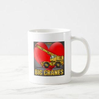 I Love Big Cranes Coffee Mug
