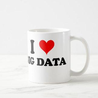 I Love Big Data Classic White Coffee Mug