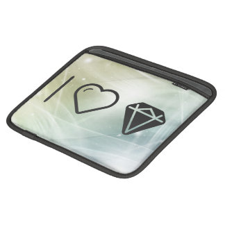 I Love Big Diamonds Sleeves For iPads