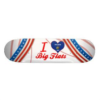 I Love Big Flats, Wisconsin Skate Boards
