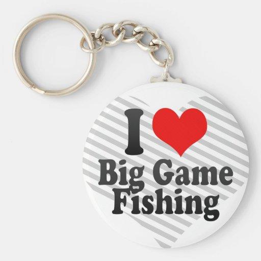 I love Big Game Fishing Keychains