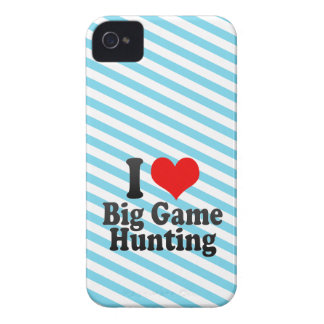 I love Big Game Hunting iPhone 4 Case-Mate Cases