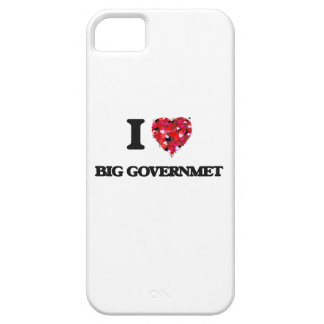 I Love Big Governmet iPhone 5 Covers