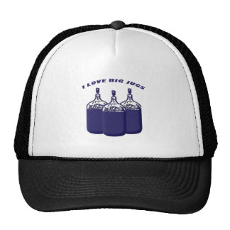 I Love Big Jugs Trucker Hats
