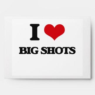 I Love Big Shots Envelopes