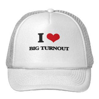 I love Big Turnout Mesh Hats