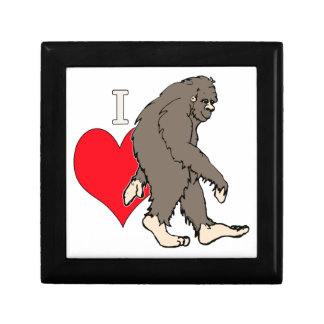 i love bigfoot,2 jewelry box