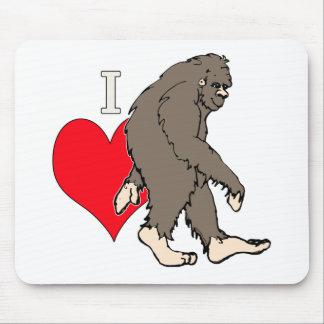i love bigfoot,2 mouse pad