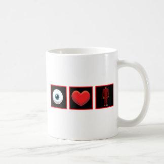 I LOVE BIGFOOT COFFEE MUG