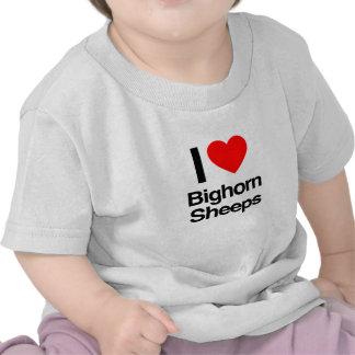 i love bighorn sheeps tshirts