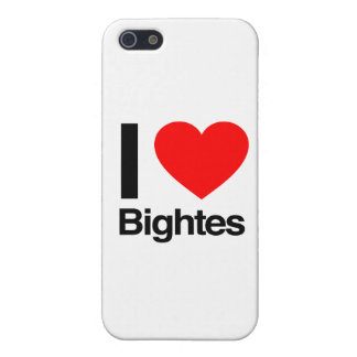 i love bightes iPhone 5/5S cover