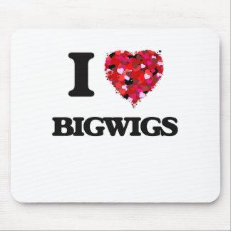 I Love Bigwigs Mouse Pad