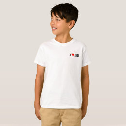 I LOvE BIH kids t-shirt