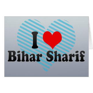 I Love Bihar Sharif, India Greeting Card