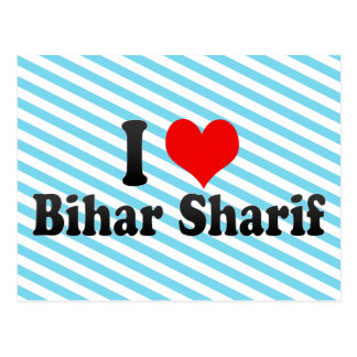 I Love Bihar Sharif, India Postcard