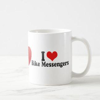 I Love Bike Messengers Mug