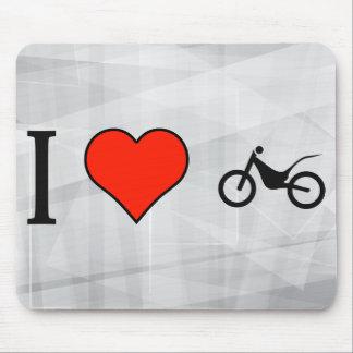 I Love Bikers Mouse Pad
