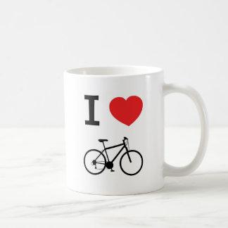 I love bikes coffee mug