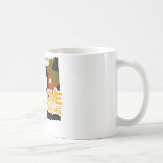 I Love Biking Ridin Coffee Mug