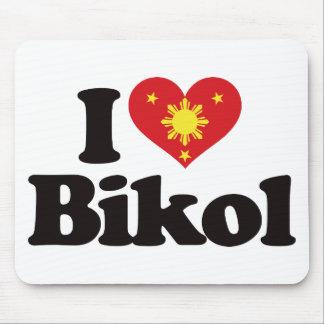 I Love Bikol Mouse Pad