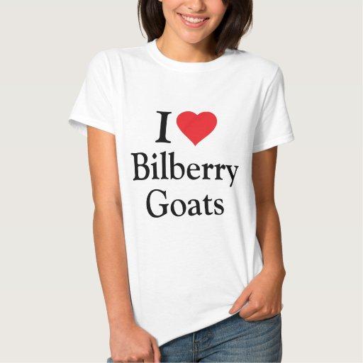 I love Bilberry Goats Tees