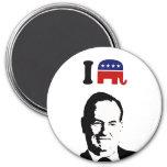I Love Bill O'Reilly 3 Inch Round Magnet