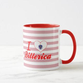 I Love Billerica, Massachusetts Mug