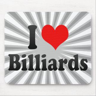 I love Billiards Mouse Pad